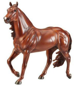 Slider is now a Breyer horse