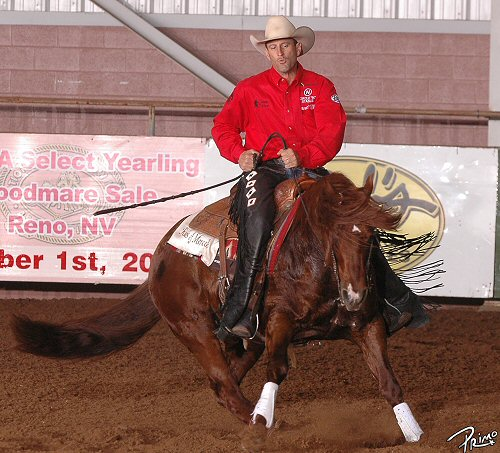 Russell Dilday and Topsails Rien Maker: 2008 Worlds Greatest Horseman Champions